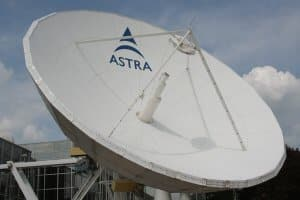 Watch All Channels Through Large Satellite Dish